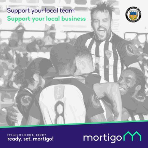 Mortigo Sponsor Tooting and Mitcham United Football Club